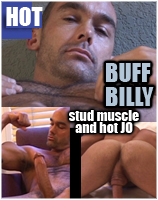 BUFF BILLY DVD   Real Man Muscle and JO
