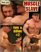 MUSCLESLAVE  Tom Lord & muscle worshipper Dillon (their 2nd video)