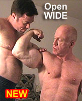 TOM LORD and ANDREW:   Open WIDE  DVD