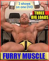 str8 jeff   FURRY MUSCLE DVD